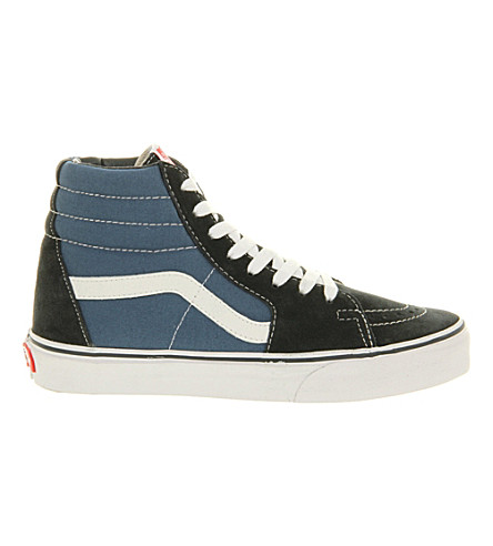VANS Sk8 high-top trainers (Navy