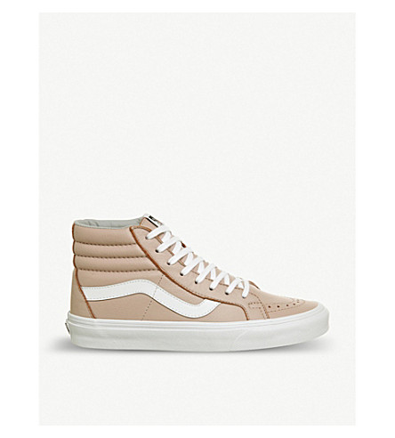 VANS Sk8 Hi suede trainers (Oxford+evening+sand