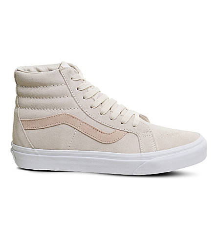 VANS Sk8 Hi suede high-top trainers (Light+pink+dark