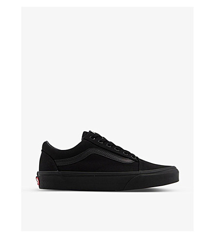 VANS Old skool trainers (Black+black