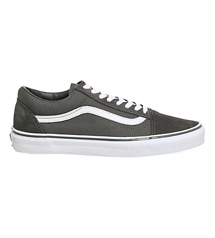 VANS Old Skool canvas and suede sneakers (Tornado+white