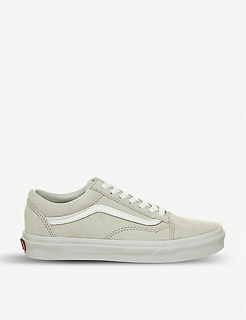 caeb154f86d4a7 VANS Old Skool suede and canvas trainers