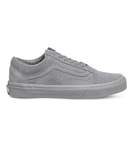 VANS Old Skool low-top suede trainers (Frost+grey+suede