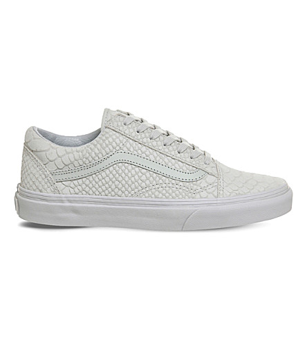 VANS Old Skool Mono Python suede trainers