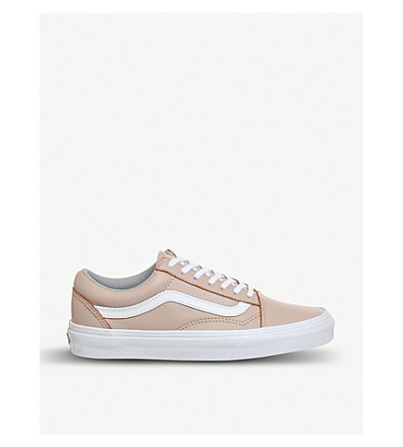 VANS Old Skool leather trainers (Oxford+evening+sand