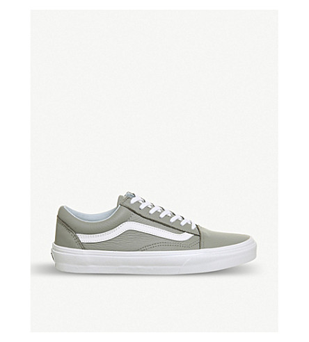 VANS Old Skool suede and canvas trainers (Oxford+drizzle