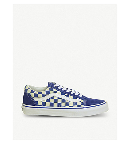 VANS Old School canvas trainers (True+blue+classic