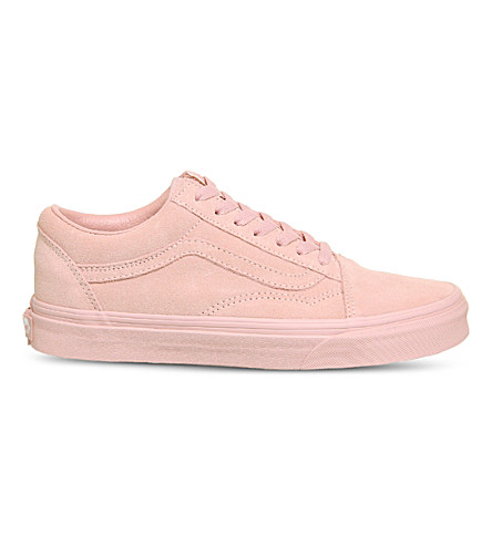 ... VANS Old Skool low-top suede trainers (Peachskin+suede. PreviousNext e05489b6a
