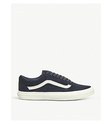 VANS Old Skool canvas trainer (Parisian+night+blanc