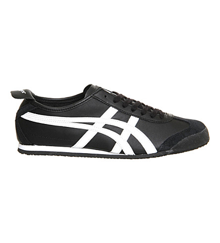 ONITSUKA TIGER Mexico 66 leather trainers (Blackwhite