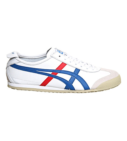 ONITSUKA TIGER Mexico 66 leather trainers (Whtredblue