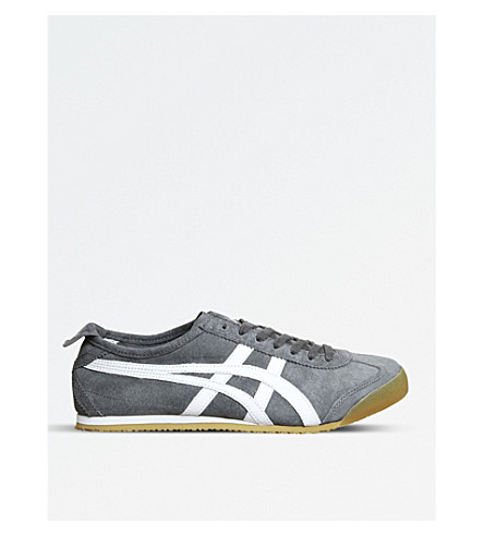 ONITSUKA TIGER Mexico 66 suede trainers (Grey+white+gum