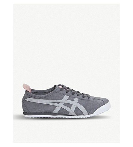 highrise ONITSUKA trainers 66 Mexico TIGER Mexico 66 ONITSUKA suede TIGER Castlerock CAqvw