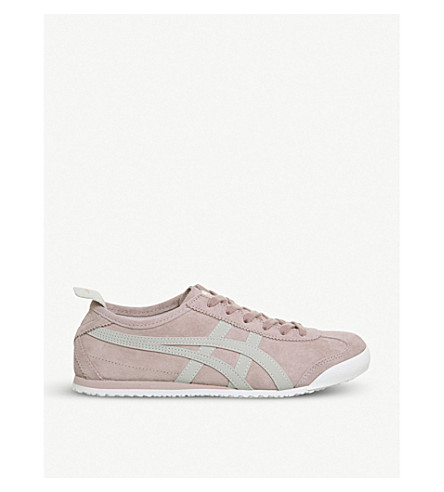 ONITSUKA TIGER Mexico 66 suede trainers (Pale+mauve+grey