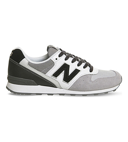 NEW BALANCE 996 suede trainers (Grey black
