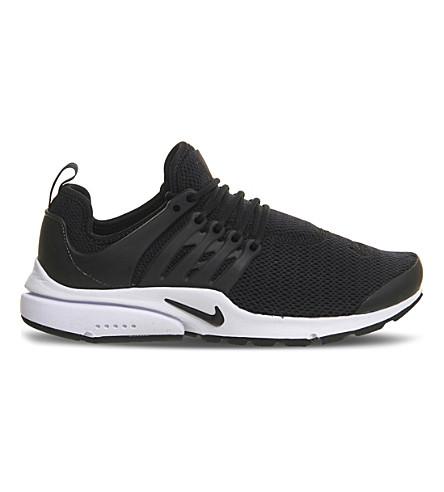 NIKE Air Presto mesh trainers (Black white