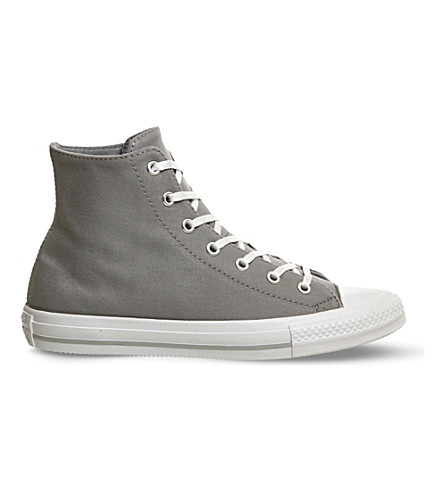 CONVERSE Gemma Chuck Taylor canvas high-top trainers (Grey white