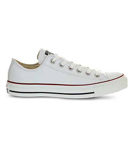 CONVERSE All Star low-top leather trainers (White