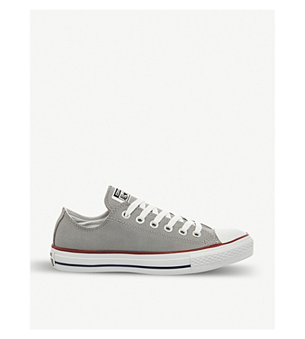 CONVERSE All Star low-top suede trainers (Washed grey