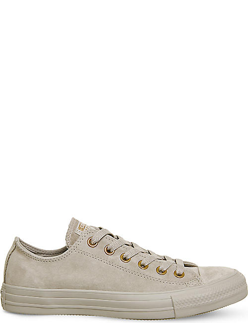 CONVERSE All Star low-top suede trainers 5ea0823a5b