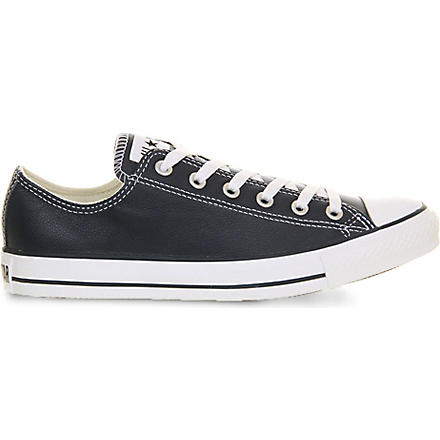 CONVERSE All Star low-top leather trainers (Navy