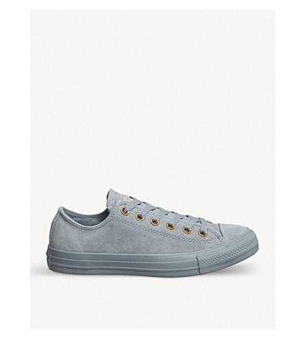 CONVERSE All Star low-top leather trainers (Blue+state