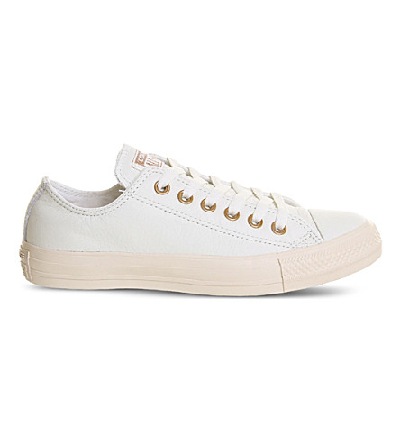 All star low-top leather trainers