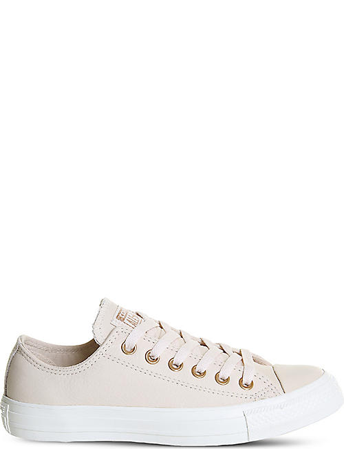 converse egret rose gold. converse all star low-top leather trainers converse egret rose gold