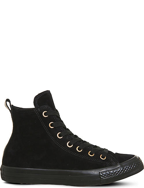 CONVERSE Allstar high-top leather trainers