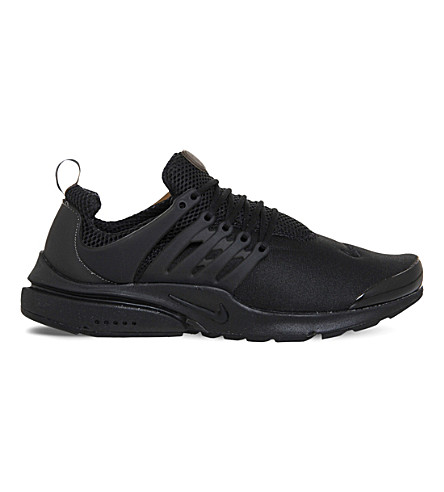 NIKE Air presto mesh sneakers (Black+mono