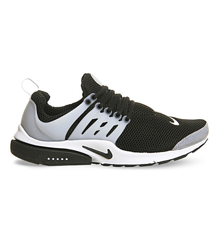 NIKE Air Presto mesh trainers (Black+white