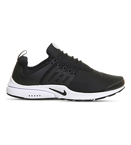 NIKE Air Presto Fs trainers (Black+black+white