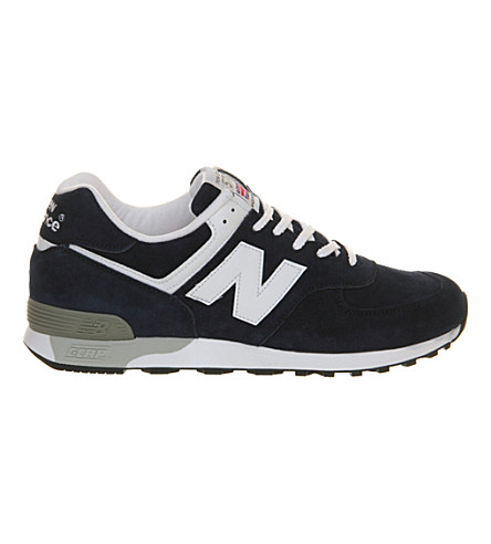 NEW BALANCE 576 sneakers (Navy+white