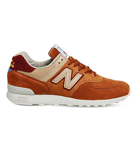 NEW BALANCE 576 suede trainers (Folk offspring 20