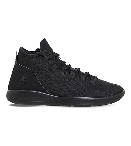 NIKE Jordan reveal leather and mesh trainers (Black mono