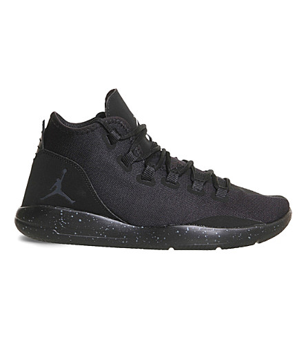 NIKE Jordan Reveal leather and mesh trainers (Black infrared