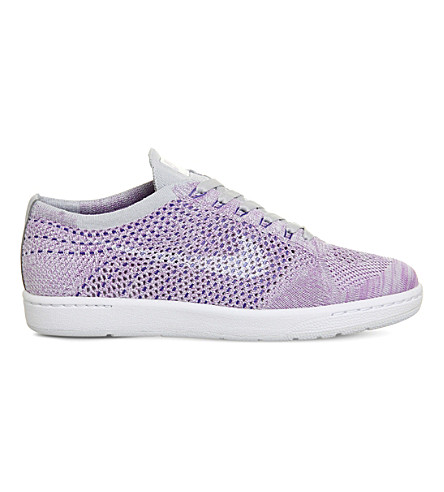 NIKE Tennis classic ultra flyknit trainers (Pure platinum white