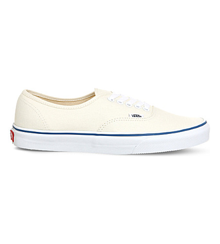 VANS Authentic canvas trainers (White
