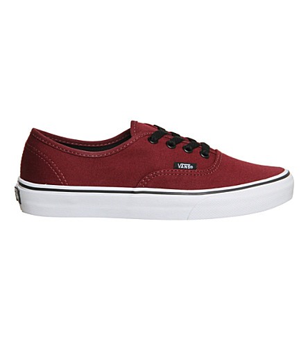 VANS Vans authentic (Port+royale+black