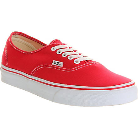 VANS Authentic low-top trainers (Red