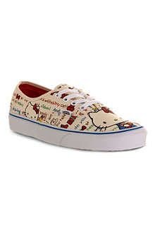 VANS Authentic Hello Kitty canvas trainers