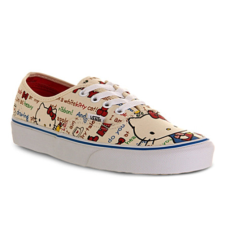 VANS Authentic Hello Kitty canvas trainers (Hello kitty red