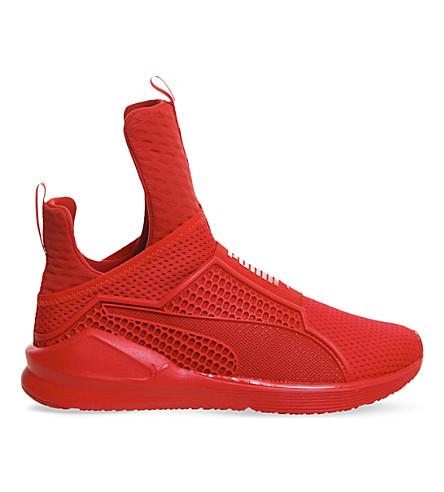 PUMA Rihanna Fenty Fierce trainers (Triple red