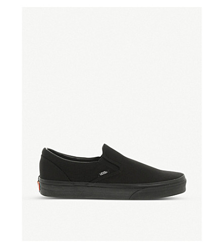 VANS Classic slip-on trainers (Black+mono
