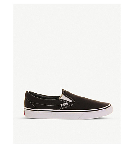 VANS Classic slip-on trainers (Black+white