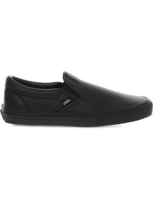 VANS Classic Premium slip-on trainers