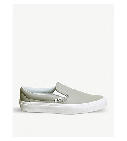 Classic slip-on canvas trainers