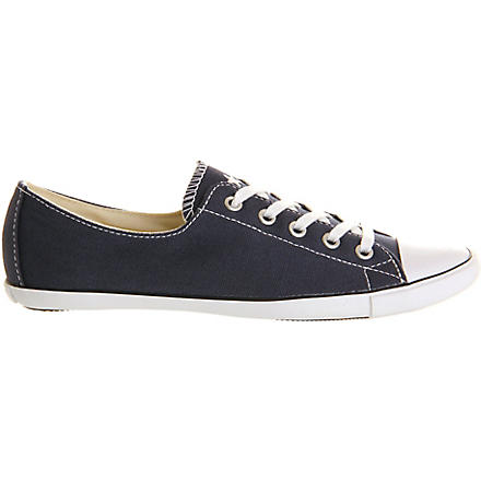 CONVERSE All Star Light Ox trainers (Navy/white