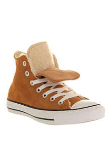 CONVERSE All Star shearling high-top trainers