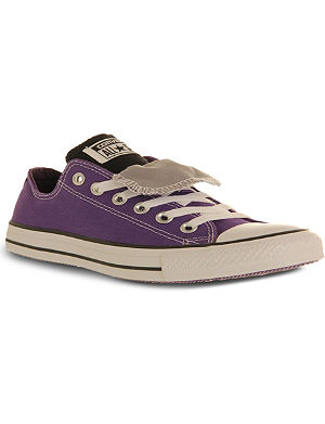 CONVERSE All Star double-tongue low-top trainers